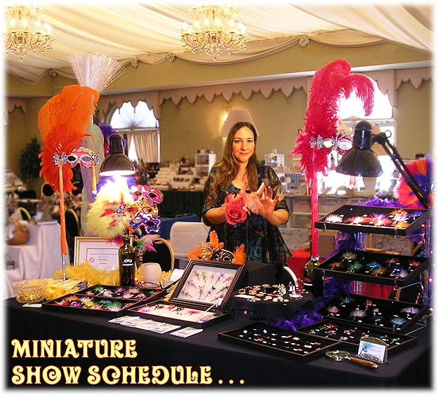 Dollhouse Miniatures Chicago: Dollhouse Miniature Show Schedule For Diane Paone Design