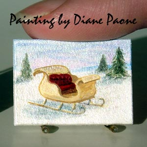 Miniature Painting by Diane Paone